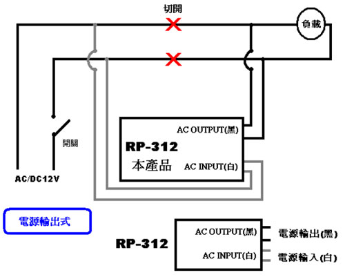 rp-312 室内吸顶式红外线感应自动开关