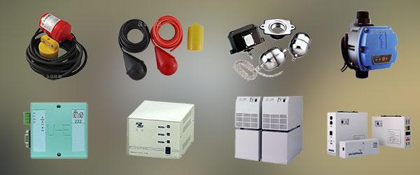 機電控制專區以專業銷售、設備維修,產品有RADAR雷達牌水位控制開關,中央監控整合系統,UPS不斷電系統