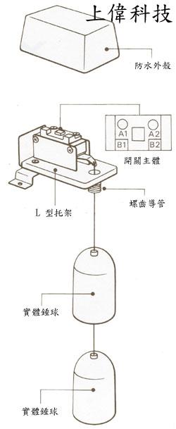 雷达牌 st-65ab 水位开关结构图