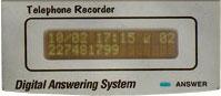 PSTN-DTAD-1L 單線式中文答錄音電話機