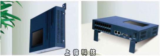 DAR-8000LS 8路崁入式電話錄音主機All-in-One 設計